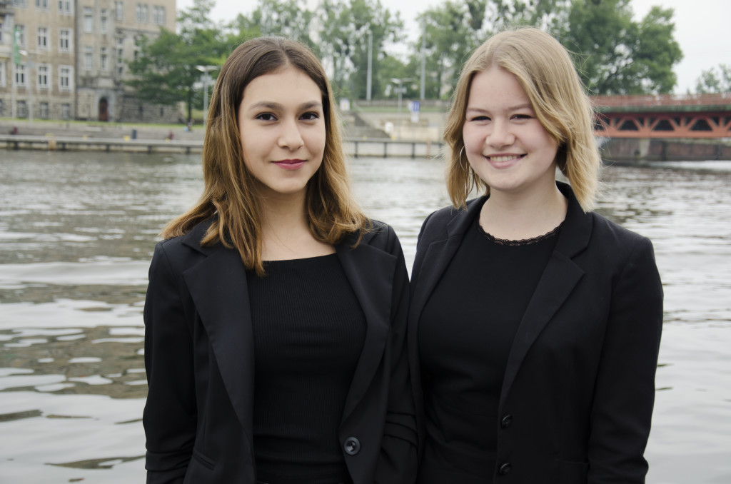 Chairs of the United Nations High Commissioner For Refugees, Maya Turostowska and Alicja Jechorek