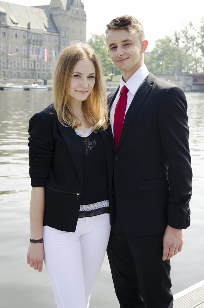 Secretary General, Paula Rahn and President of General Assembly, Bartosz Roman